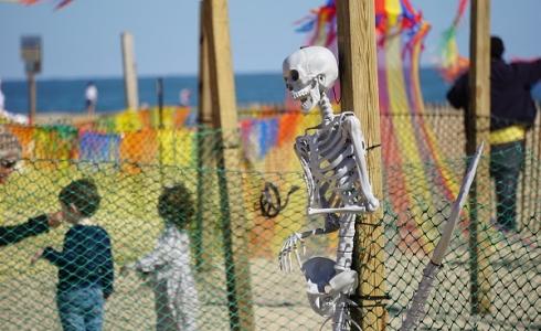 Halloween Beach Maze